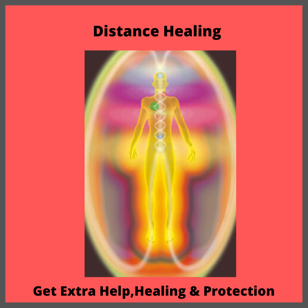 Distance healing Individual, Family & Home