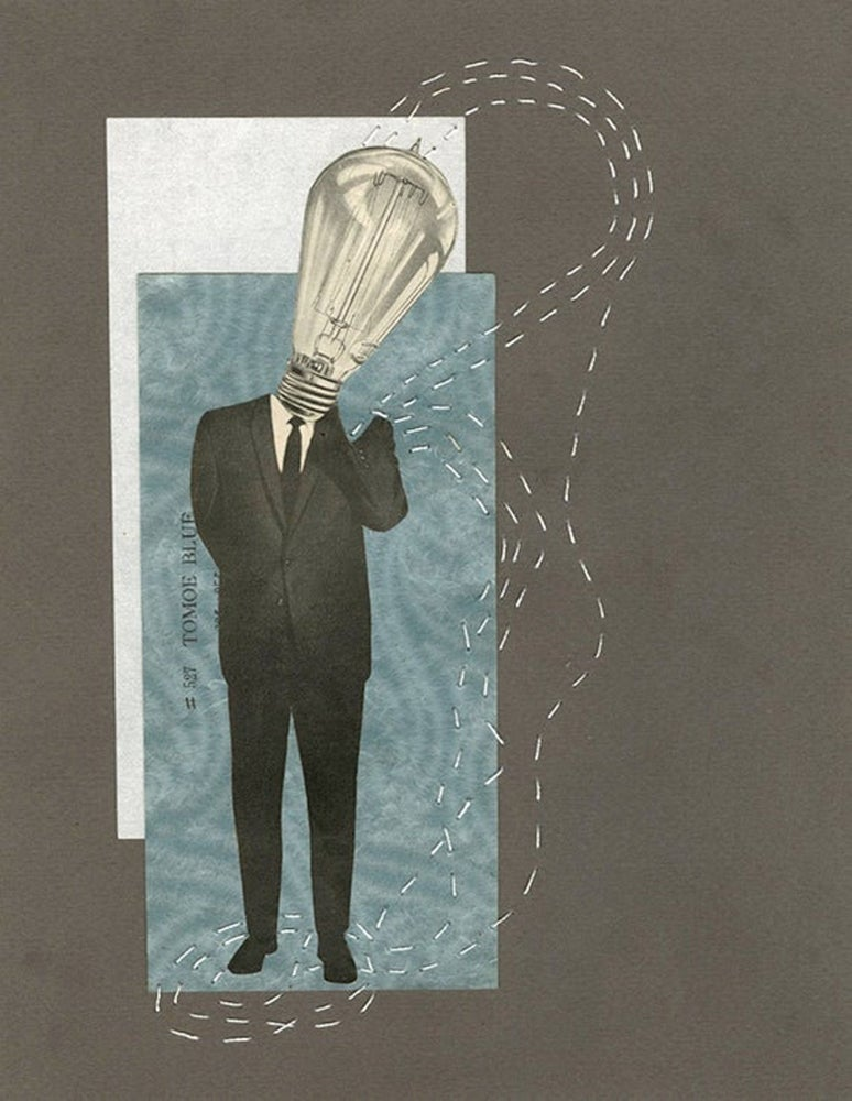 Image of The Age of Enlightenment. Original collage.