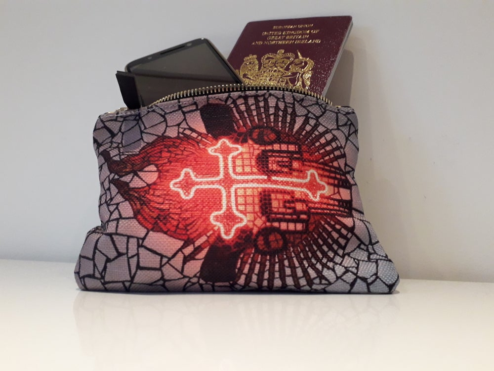 Image of Flaming Cross Purse