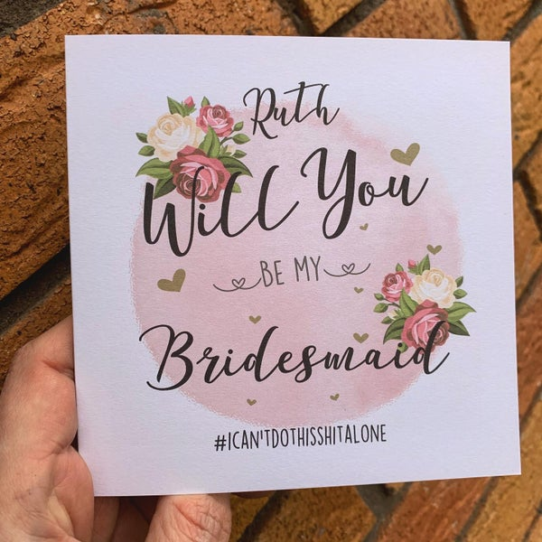 Image of Bridesmaids Cards