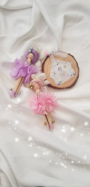 Image of NEW - Decorative Fairy Peg Dollies