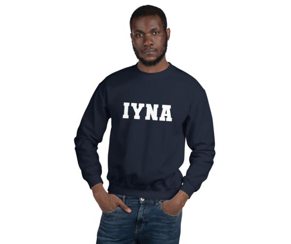 Image of Unisex IYNA Crew Neck Sweatshirt   Gildan