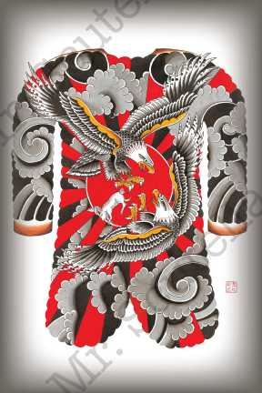 "Image of  ""Grimm Irezumi"" by Mr. Scutella"