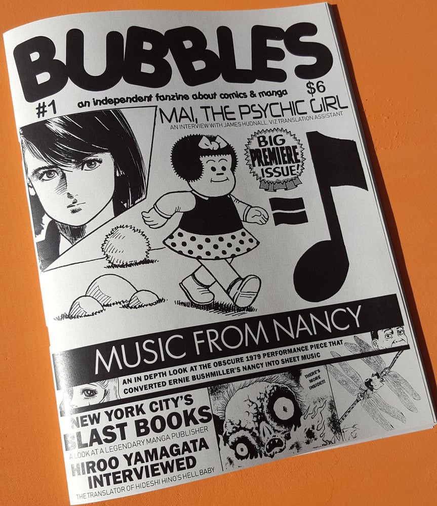 Image of Bubbles zine #1