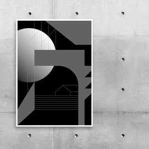 Image of Construct Night Plakat