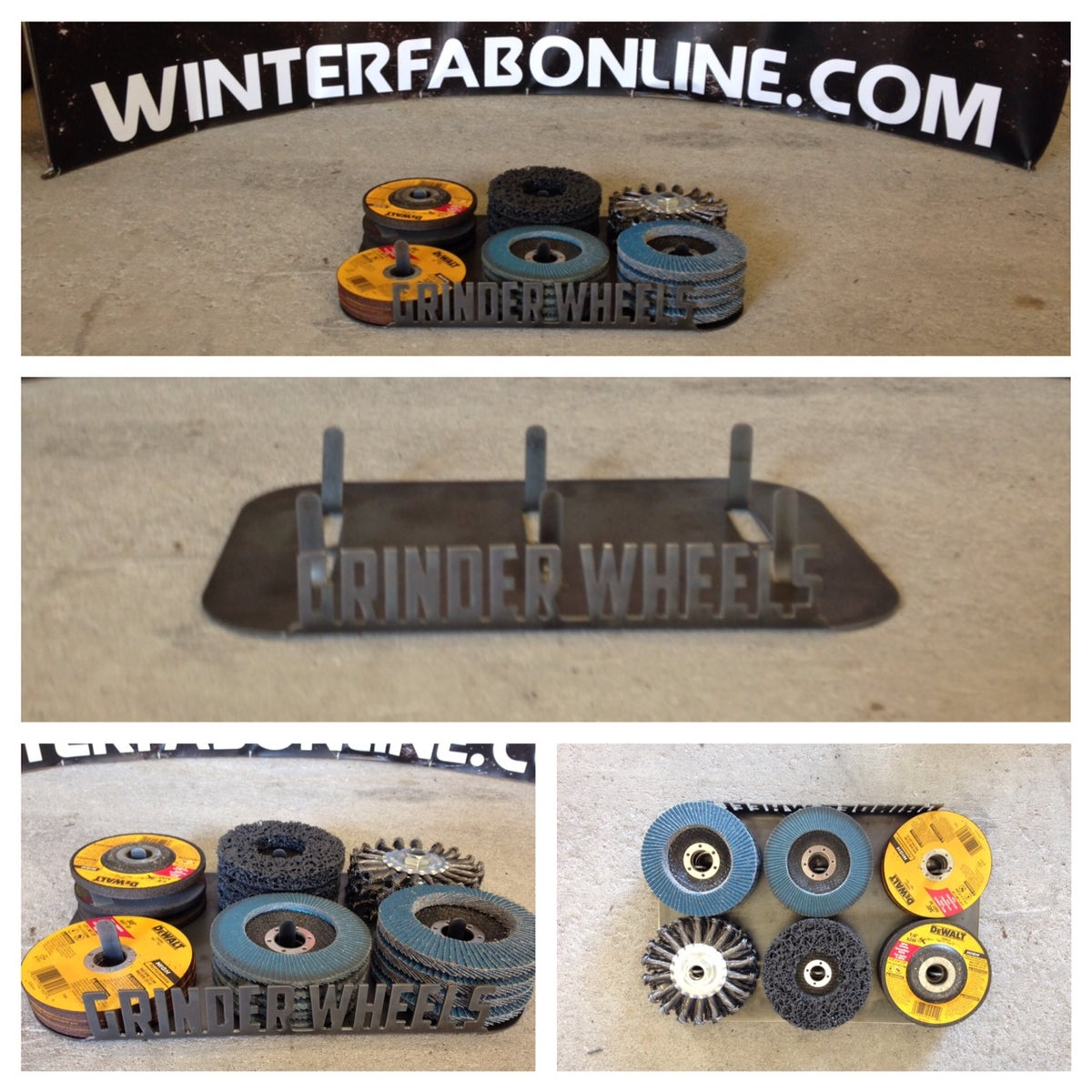 Image of Grinder Wheel Racks