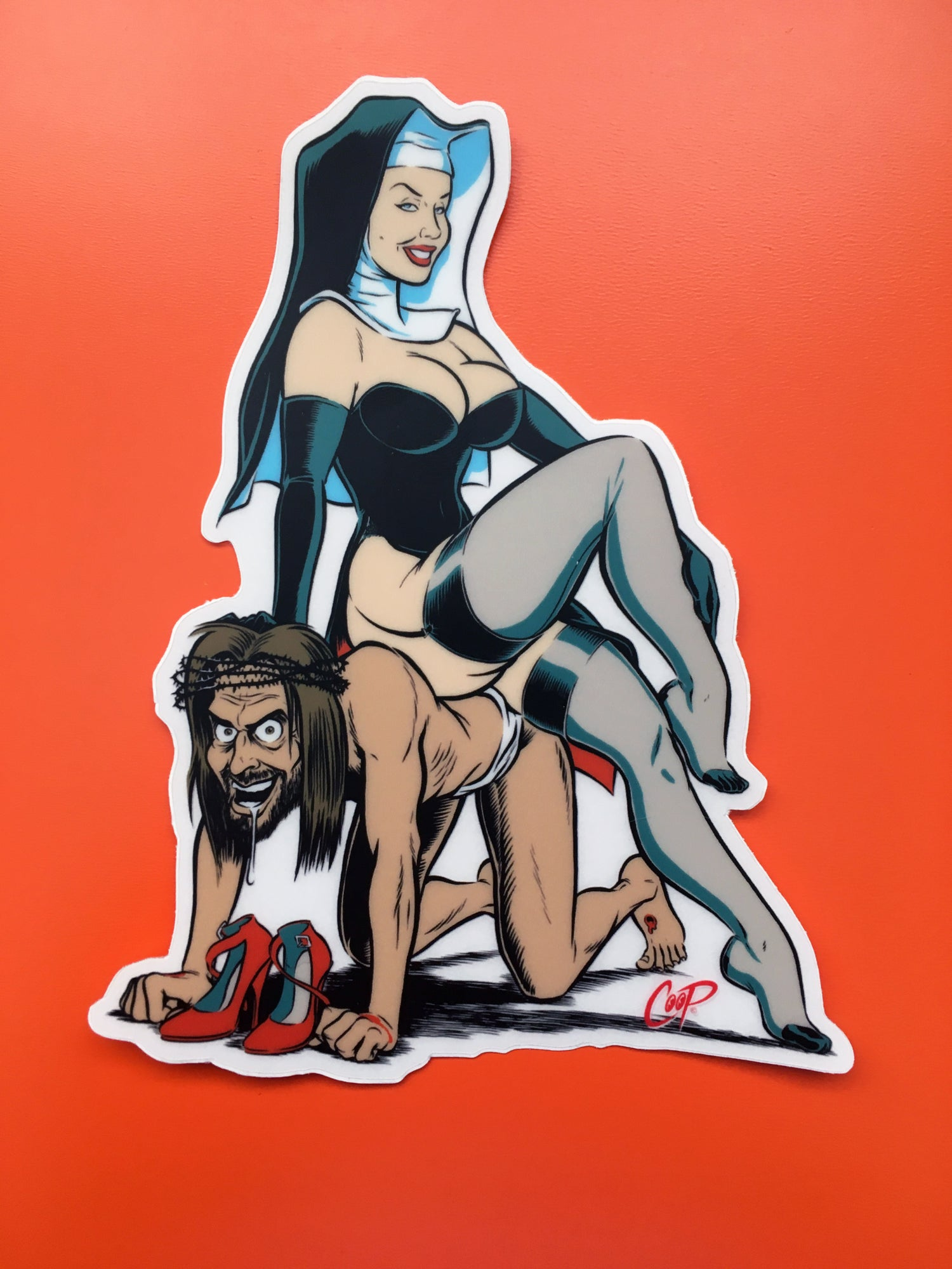 "Image of COOP Sticker Pack #5 ""Naughty Girls"""