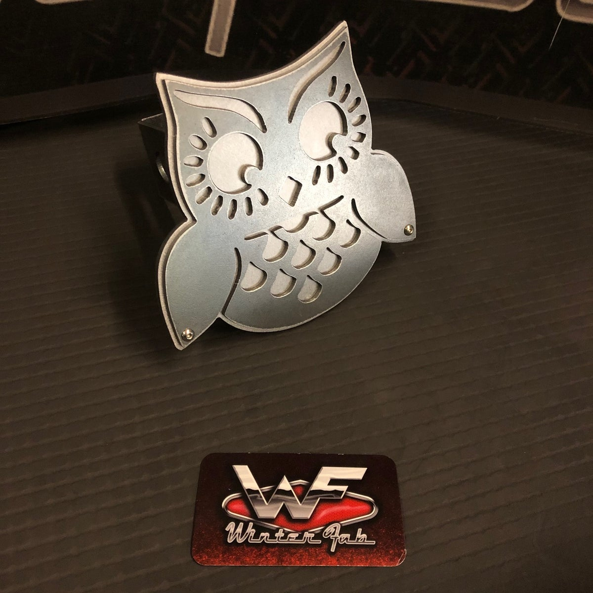 Image of Owl Hitch Cover