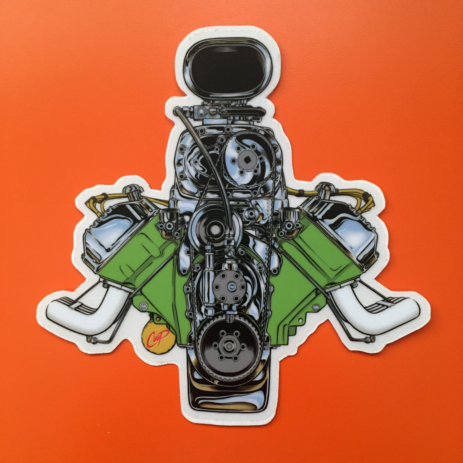 """Image of COOP Sticker Pack #6 """"Gearheads"""""""