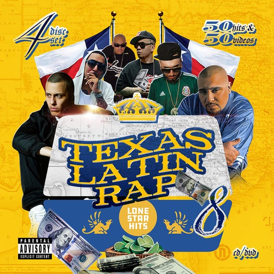 Image of Texas Latin Rap Volume 8 (4 Disc)