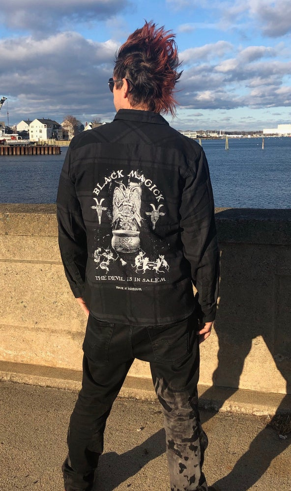 Image of Black Magick Flannel