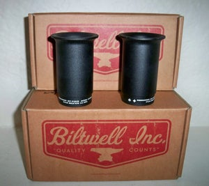 Image of Biltwell Four Aces Exhaust Tips- Black
