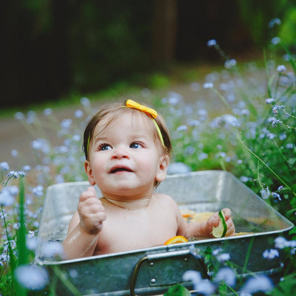 Image of June Baby Fruit n' Flower Bath Mini Session | Retainer