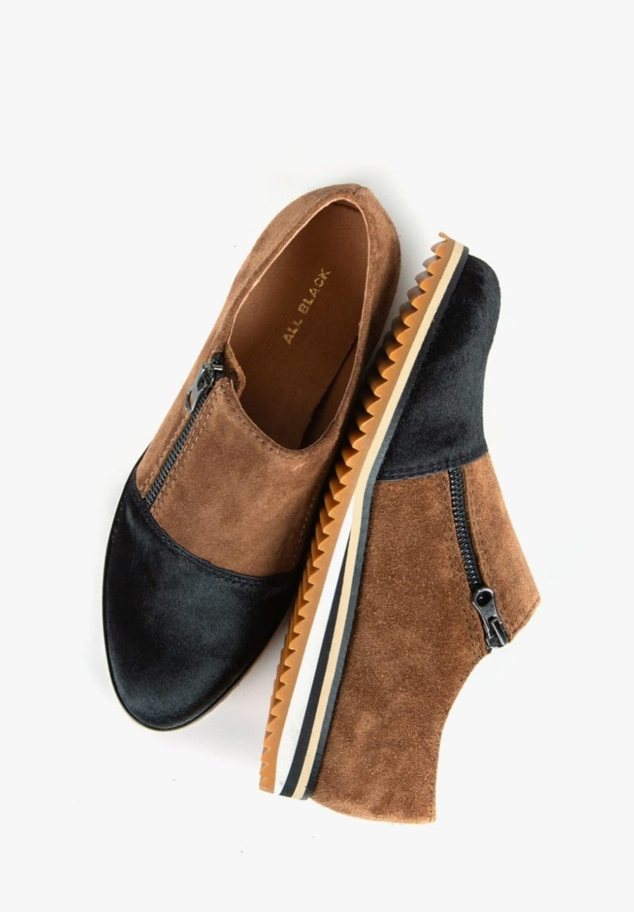 Image of Camilla Suede Loafer/Sneaker