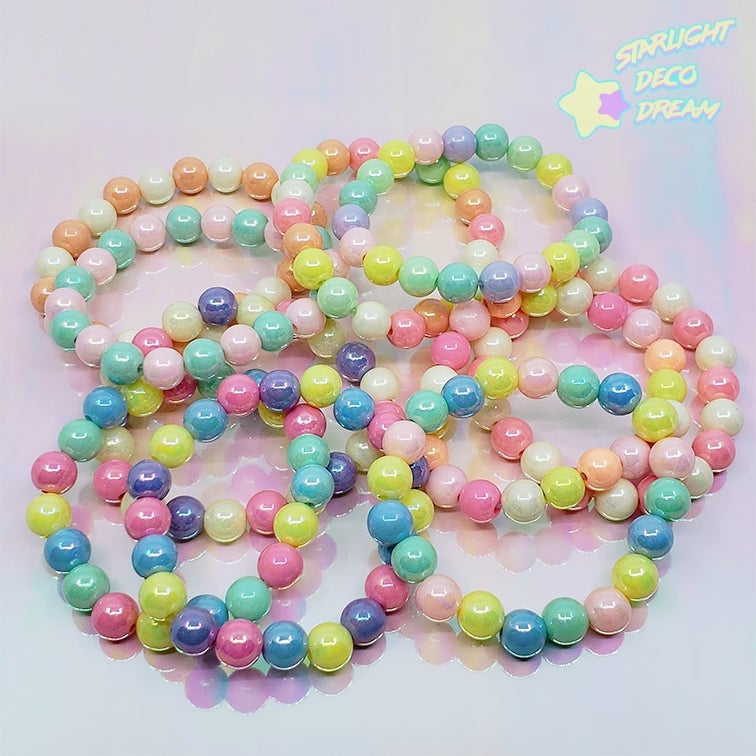 Image of Bubblegum Elastic Bracelet / Various Colour Selection