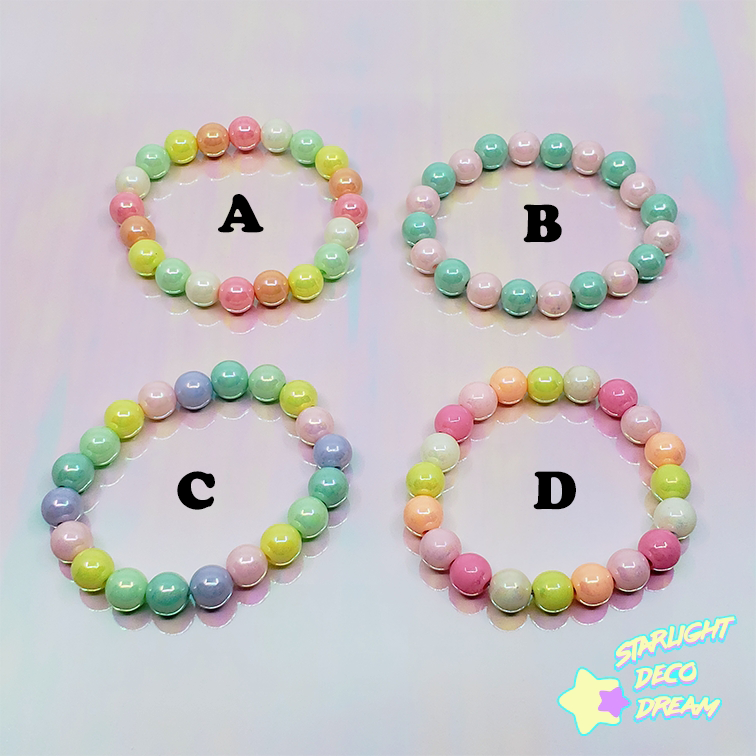 Image of Bubblegum Elastic Bracelet / Various Colour Selection