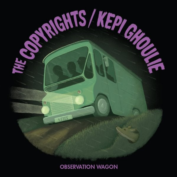 Image of Copyrights / Kepi Ghoulie split 7""