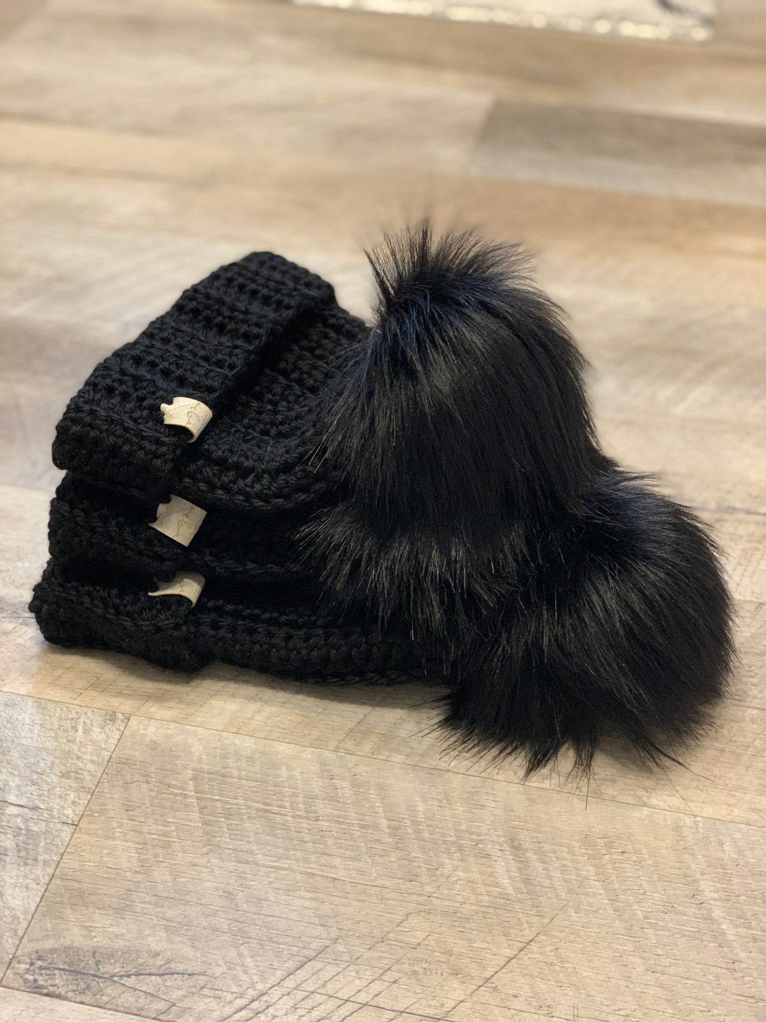 Image of Darth Royal Luxury beanie
