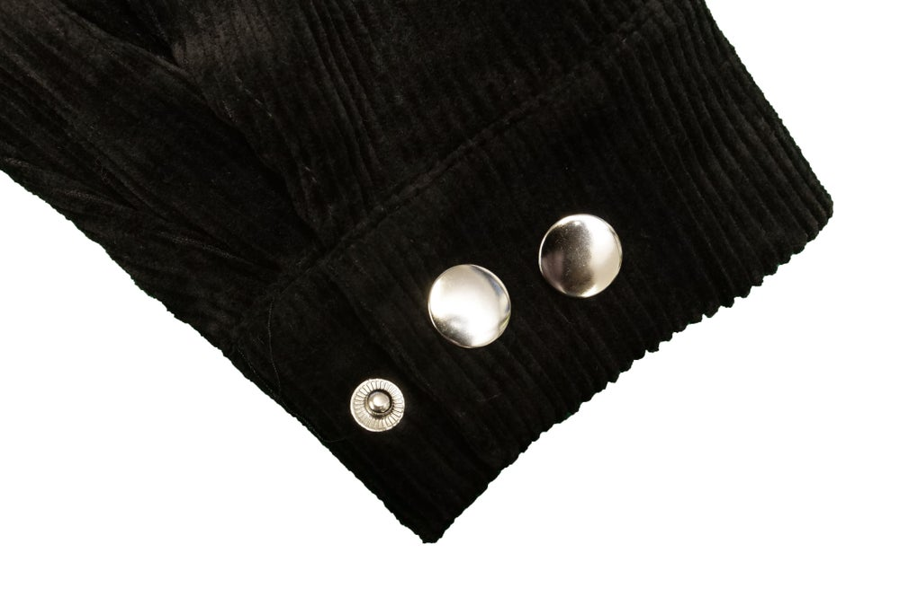 Image of FTL Corduroy Overshirt (Black)