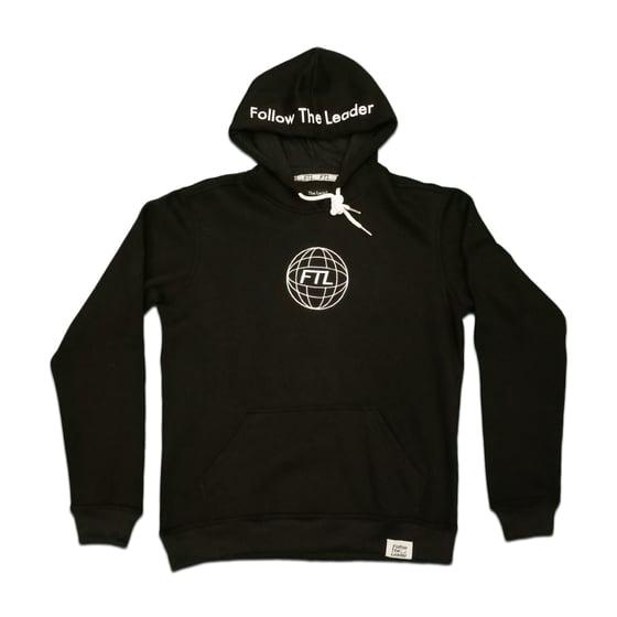 Image of FTL Globe Hoodie (Black)