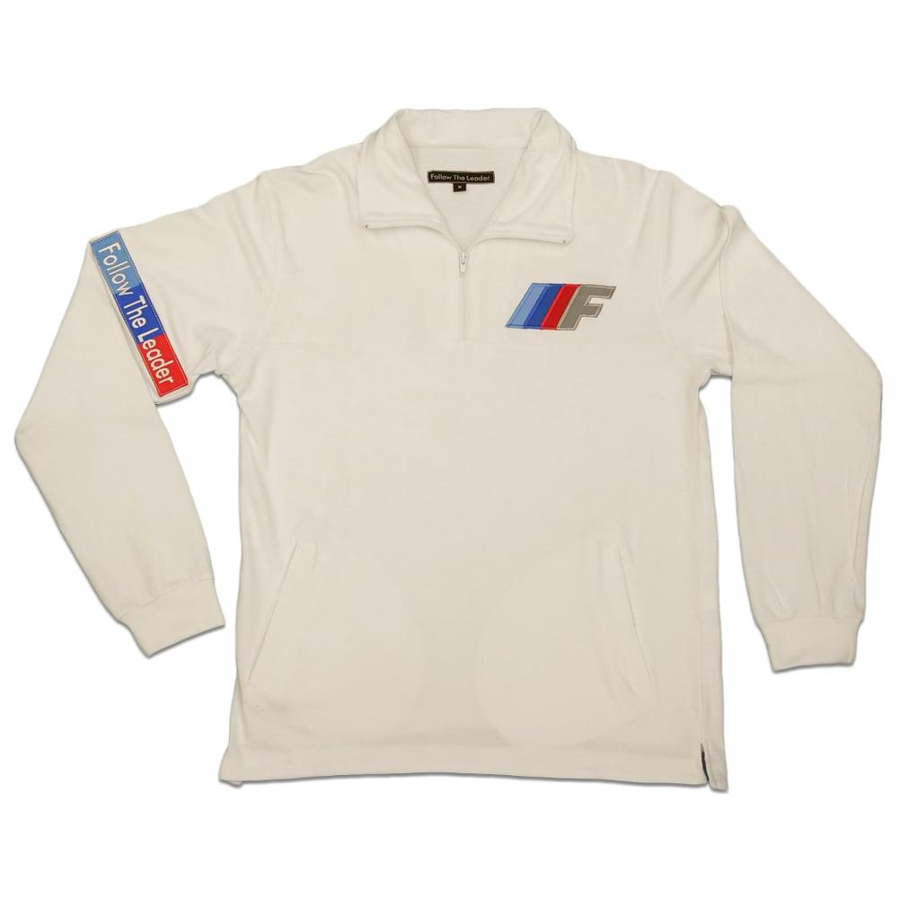 Image of FTL Motorsport 1/4 zip (White)