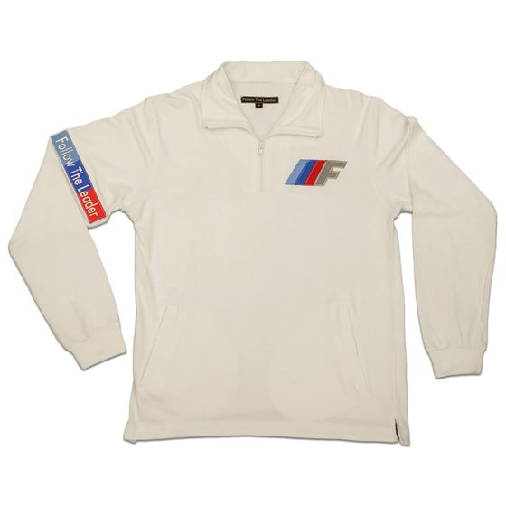 Image of FTL Motorsport 1/4 zip (White)