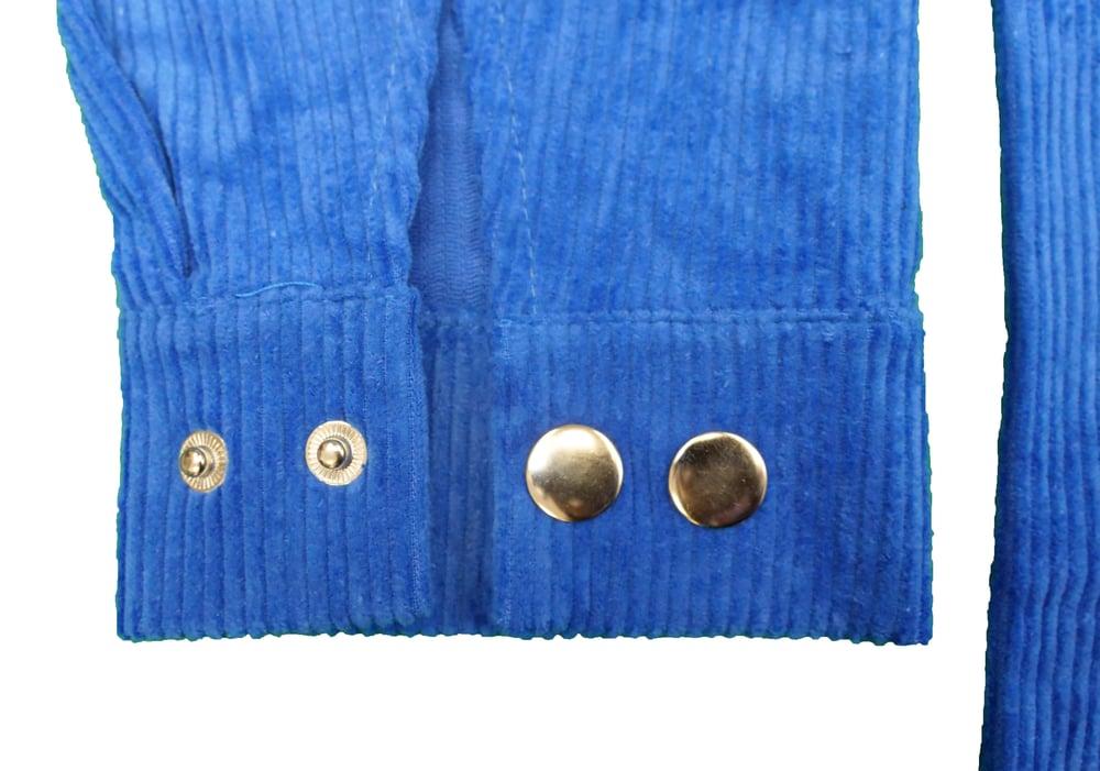 Image of FTL Corduroy Overshirt (Royal Blue)