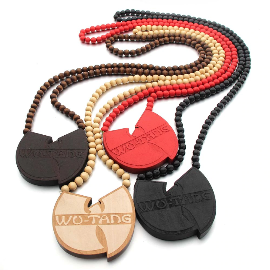Image of Wu-Tang Wood Necklace / Car Hanger