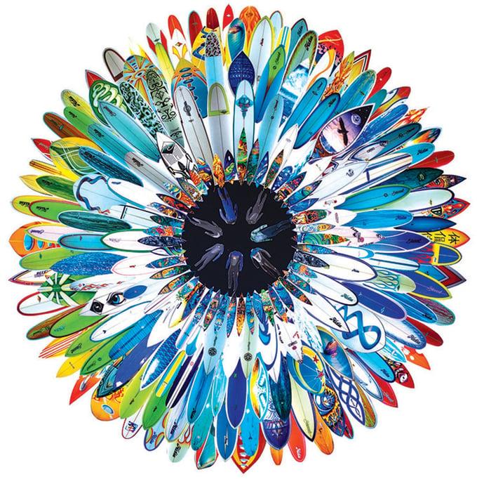 Image of NEW Large Surf Flower 2