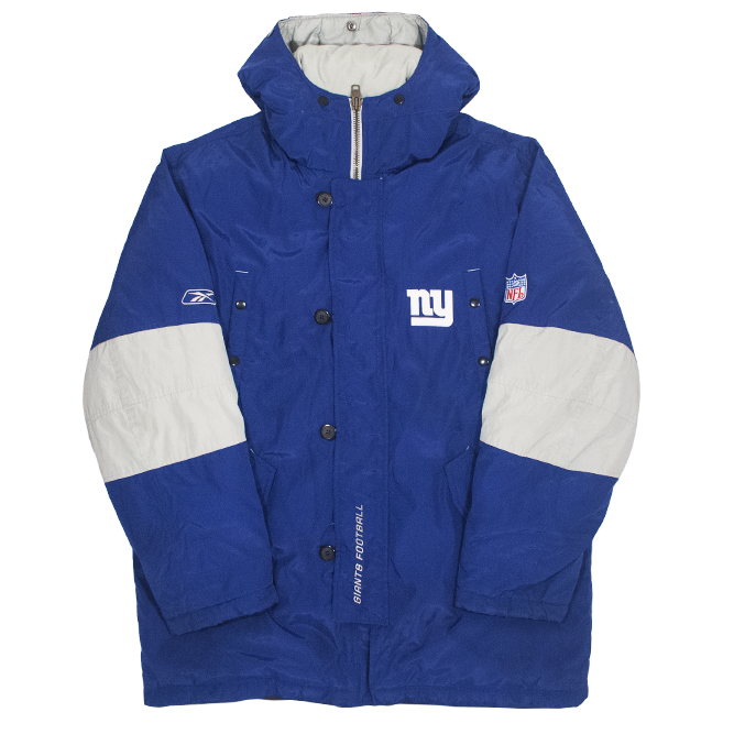 Image of Reebok New York Giants Heavy Coat Size L