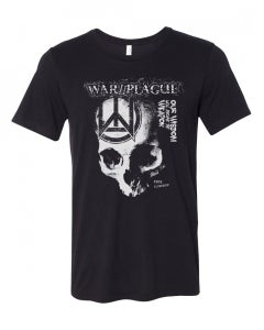 "Image of War//Plague - ""Wisdom will become..."" LIMITED shirt US only"