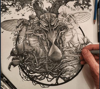 Image of The Cicada Tree - Tablature