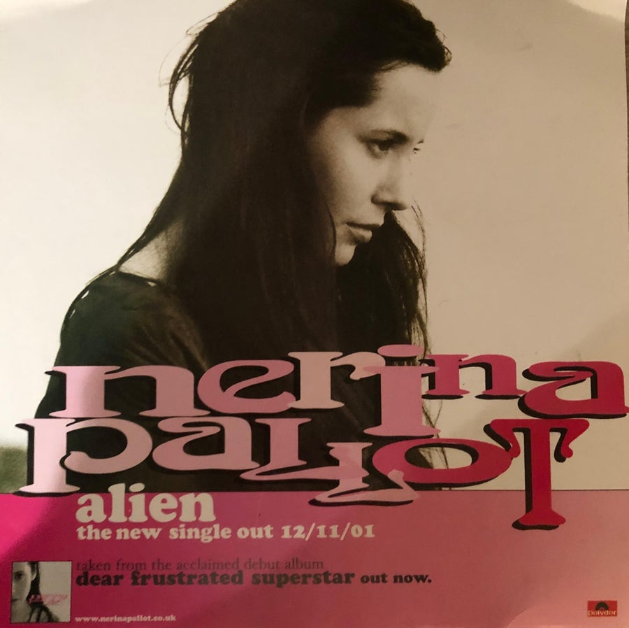 Image of Rare Alien Promo poster *signed*