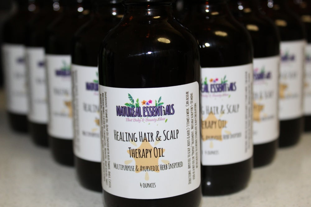 Image of Healing Hair & Scalp Therapy Oil