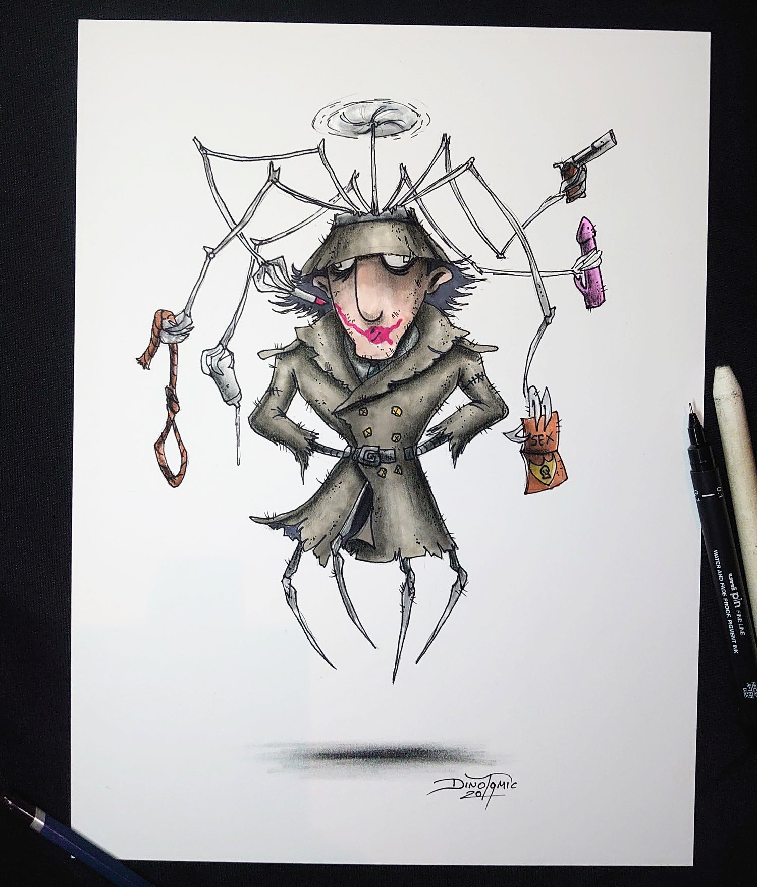 Image of #156 Inspector Gadget Creepyfied