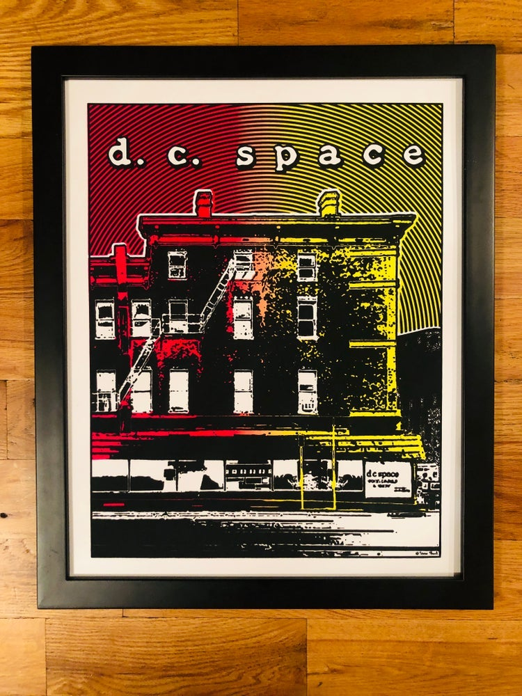 Image of DC Space Silk Screened Art Print - BLEMISHED