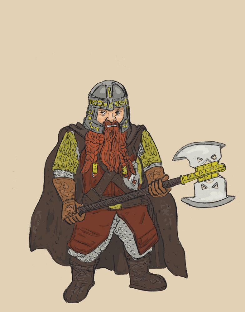 """Image of """"The Dwarf"""""""