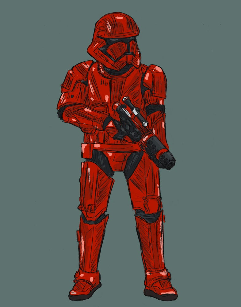Image of Red Trooper