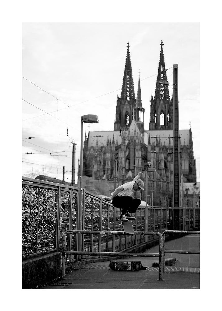 Image of Dom Kickflip - FineArtPrint