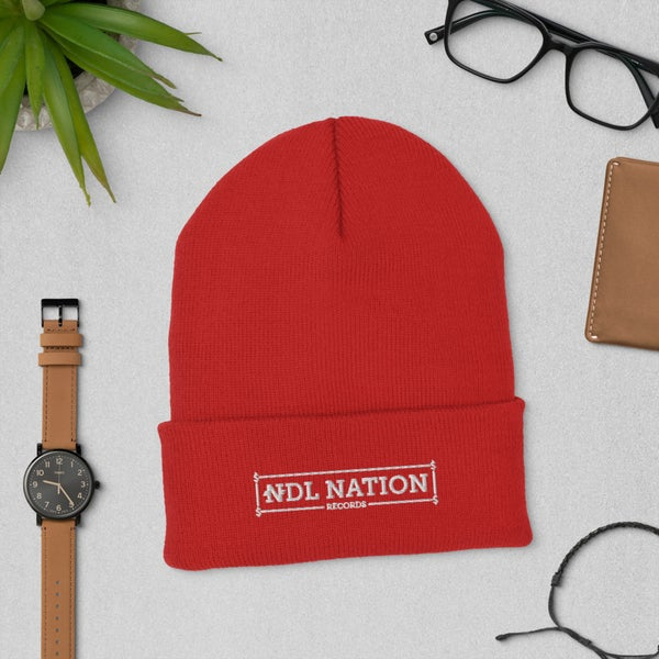 """Image of """"NDL Nation Records"""" Beanie"""