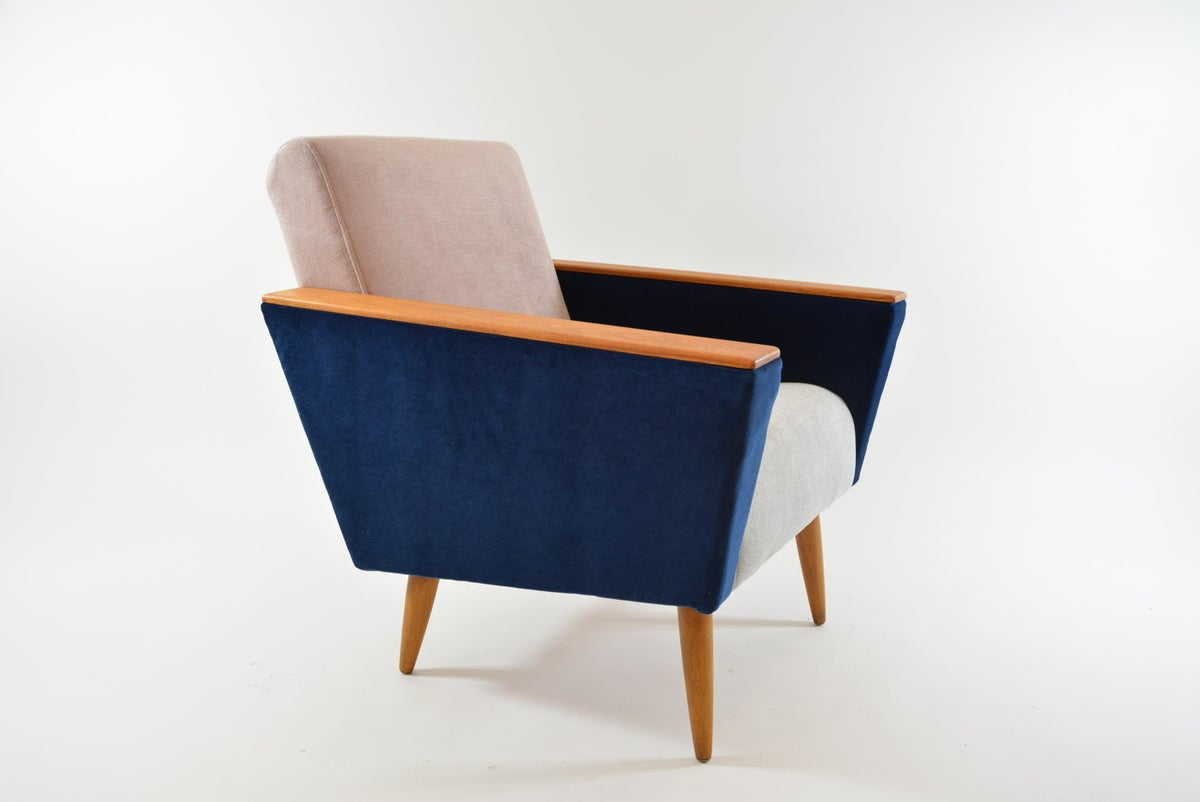 Image of Fauteuil Cube tricolore