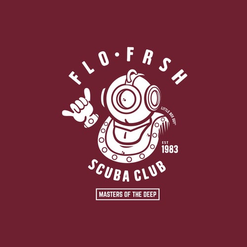 Image of FLO•FRSH Scuba Club 'Masters of the Deep' Tee