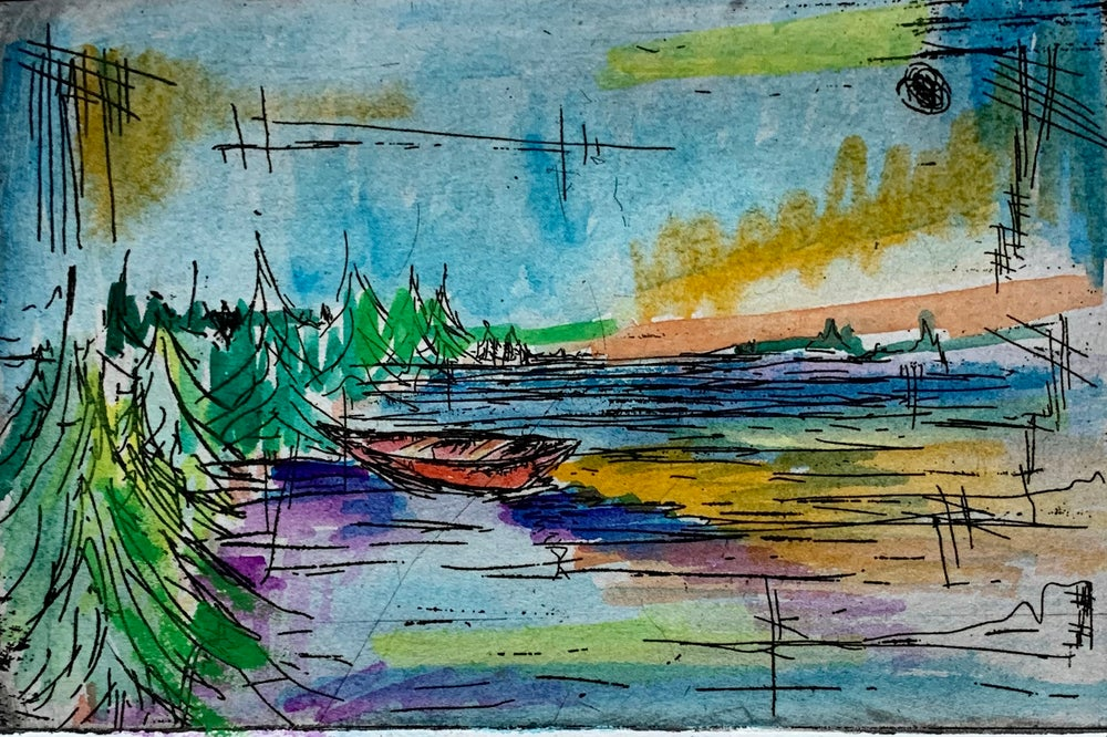 Image of BWCA Handmade Print II