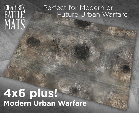 Image of Modern Urban Warfare -- 4x6plus -- #750
