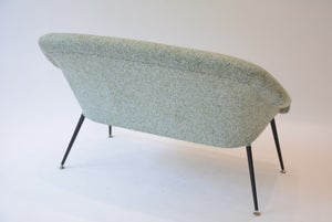 Image of Banquette Coquille vert chiné