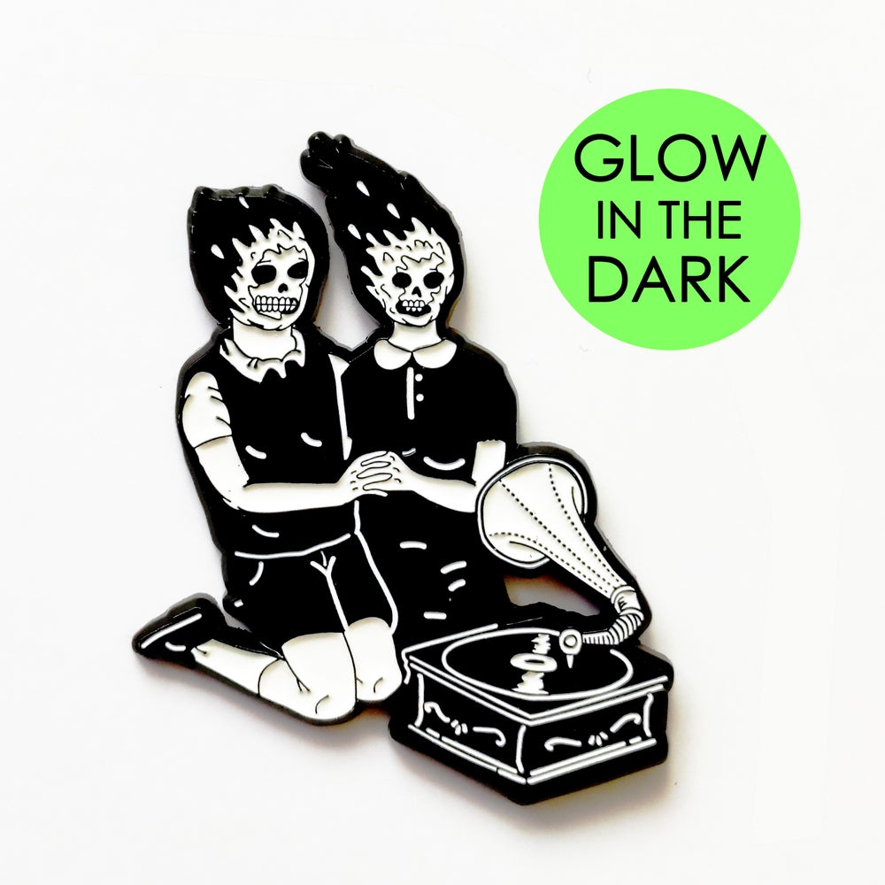 Image of Lover Vibes - Glow in the dark - Pin by Alessandro Ripane