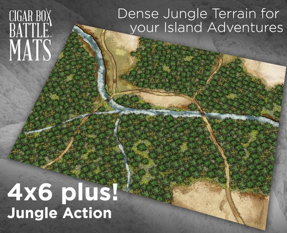 Image of Jungle Action  -- 4x6plus -- #770
