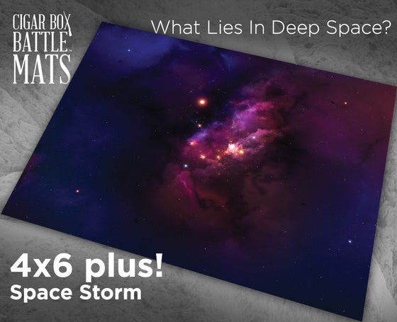 Image of Space Storm  -- 4x6plus -- #810
