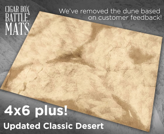 Image of Updated Classic Desert -- 6x4 plus -- #790