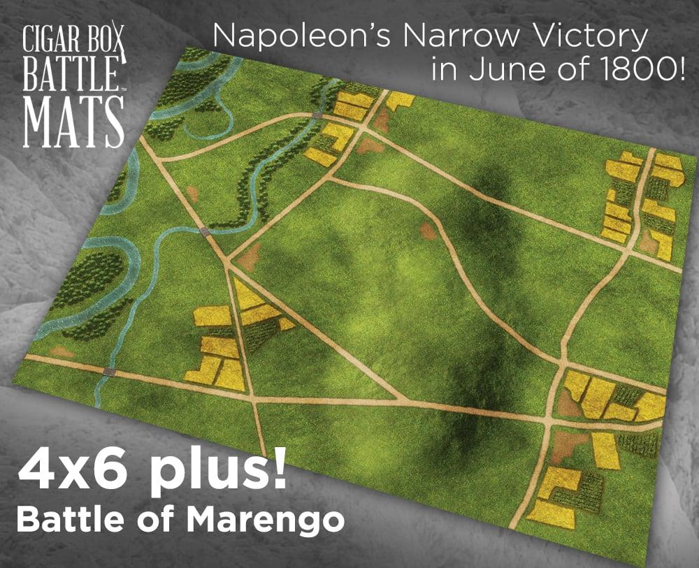 Image of Battle of Marengo  -- 4x6plus -- #820